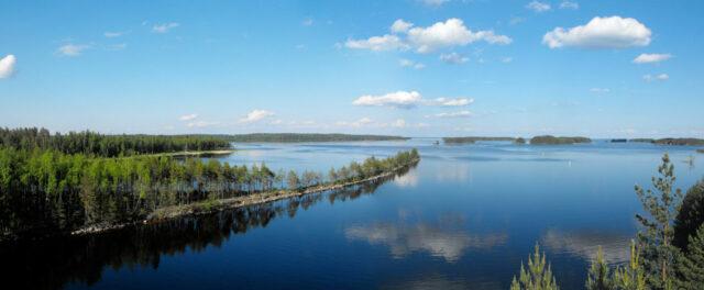 saimaa lake, east finland. photo miguel virkkunen carvalho