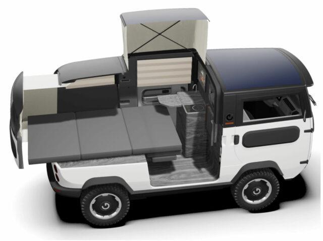 x-bus electric camper van