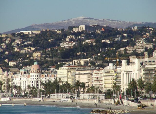 Nice, France. Photo from travel guidebook Nice and the French Riviera.