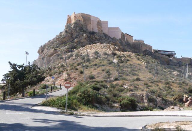 castillo de lorca, castle/fortress in lorca, spain