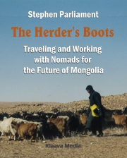 download book: The Herder's Boots - travel stories of Mongolia